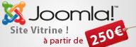 Joomla - Site vitrine à prix discount