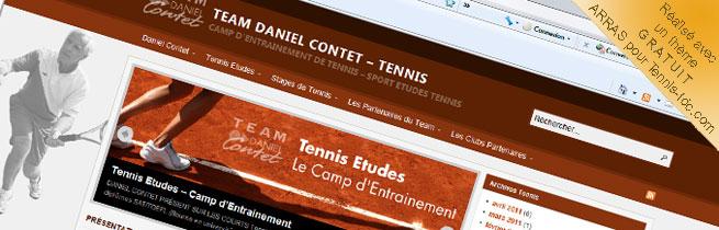 Thème GRATUIT pour tennis-tdc.com