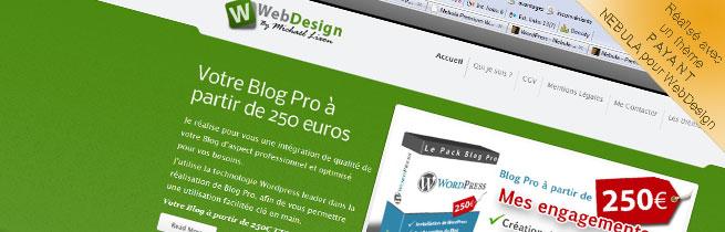 Thème PAYANT pour WebDesign